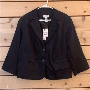 🆕 Worthington Black Coat